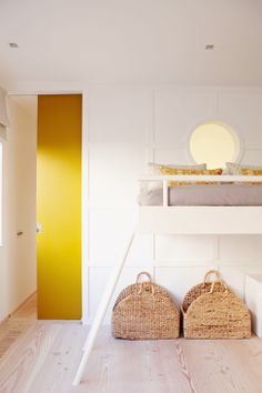 First, it attracted a loft to create more space. Then they started with the actual expansion. Sliding doors disappear into the wall, a series of ground-floor windows provide plenty of natural light also - though the whole house is now only about 80 square meters in size, it looks open and airy.