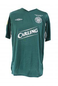 Neil Lennon - Scottish Cup Final 2004 matchworn