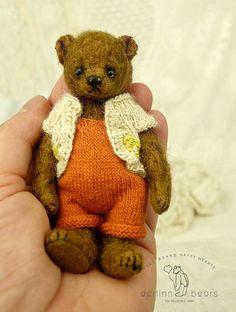 Michael Mohair Artist Teddy Bear Boy from Aerlinn by aerlinnbears