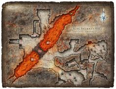 Dungeon #200 - Hall of the Fire Giant King; Map 4 (Digital DM & Player Versions)