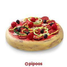 Sinterklaas surprise voor 5 december. Lekker en leuk, deze pizza surprise beleg je helemaal naar eigen inzicht!