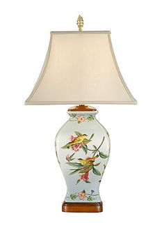 TROPICAL BIRDS LAMP