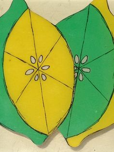 Vintage Trivet Lemon Lime by kraftskeepmesane on Etsy, $3.50