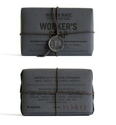 Hudson Made Workers Soap by Hovard Design