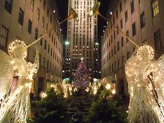 Christmas in New York city.