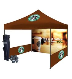 Outdoor Promotional canopy tents are designed to make the process of connecting with visitors as easy as possible! Our package includes unlimited full-color dye sublimation printing and we only use exceptionally high-quality print technology. 10x10 Canopy Tent, Brazilian Restaurant, Custom Canopy, Instant Tent, Coffee Business, Tent Design, Tent Decorations, Container Architecture, Pop Up Tent
