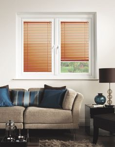 Pearlised Copper Perfect Fit Venetian Blinds