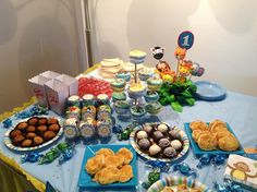 Blog My Little Party - Ideas e Inspiración para Fiestas: Vuestras Fiestas: Primer Cumpleaños de Marc David