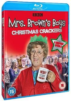 Mrs Browns Boys Christmas Crackers Feast yourself on this triple helping of Mrs. Browns Boys with the outrageous Christmas Specials. As always Agnes is only trying to make Christmas perfect for her family but things dont always turn ou http://www.MightGet.com/january-2017-12/mrs-browns-boys-christmas-crackers.asp
