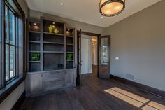 Home Office & Library - New Home Build, Oakville | whitehallhomes.ca