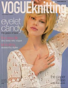 VOGUE+KNITTING+Spring+Summer+2007+Lace+Dress+Halter+Tops+Rainbow+Shawl