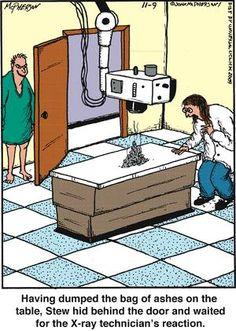 Cruel patient jokes