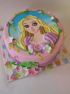 2D princess Cake tutorial by de leukste taarten