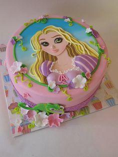 2D princess Cake tutorial by de leukste taarten
