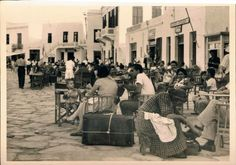 #Mykonos #waterfront in 1954!