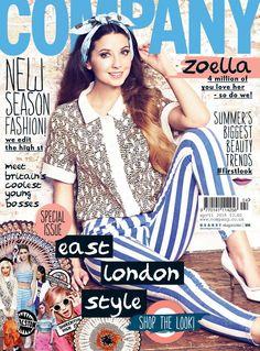 zoella company magazine cover - Google Search