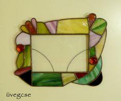 üvegcse.design | unique stained glass mirrors - frames