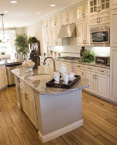 Granite Kitchen Countertops Done Right | Calfinder Remodeling Blog