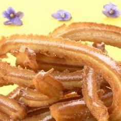 Make your own delectable Spanish churros with this easy recipe. The only thing you'll need is a churro pump, which can be purchased online or in speciality shops. Spanish Churros Recipe, Vegan Dessert Recipes, Cooking Recipes, Cooking Pork Tenderloin, Cooking Beets, Spanish Dishes, Cooking Classes For Kids, Cuban Recipes, English Food