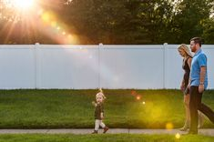 The most perfect portrait of one of my tiniest clients. I simply love everything about it form the gorgeous golden sunlight to how Mom and Dad are walking behind as Sadie leads the way to the park. Senior Portraits, Family Portraits, Walk Behind, Photographing Babies, High School Seniors, Family Pictures, Sadie, Lifestyle Photography, Mom And Dad