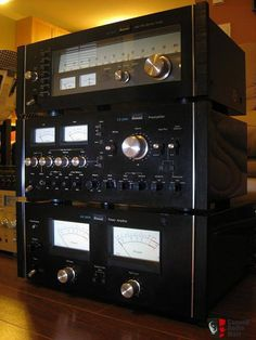 Sansui BA-3000 CA-3000 TU-9900 : Bottom Up... Beautiful !
