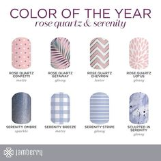 2016 colour of the year nail wraps now available!!  http://jacquimiller.jamberry.com http://facebook.com/jacquimillernz