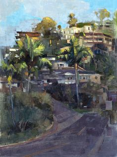 """Everyone wants an ocean view in Laguna Beach, California. I painted """"Nyes Place"""" (oil on linen, 18""""x24"""") for the 19th Annual Laguna Beach Plein Air Painting Invitational. #LPAPA19th #lagunabeach #california #patricksaunders #patricksaundersfineart #patricksaundersfinearts #patsaunders #pleinairstreaming #saundersfinearts #pleinairpainting #pleinairpainter #pleinairartist #pleinairinvitational #pleinair #enpleinair #nyesplace"""