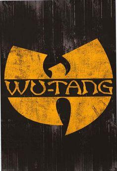 Wu-Tang Clan Logo Poster 24x36 – BananaRoad