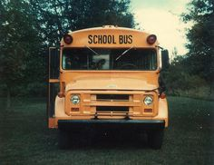 A proud moment - the bus I drove in HS on the first day I parked it in the back yard. I remember when I got the phone call from the bus principal informing me that I'd be driving Bus the same bus I rode in and grade. Old School Bus, School Bus Driver, School Buses, School Days, Car Supplies, Teacher Supplies, Rapid Transit, Wheels On The Bus, Polaroid Photos