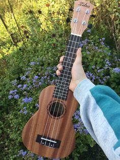 The ukulele is a very small guitar that originated from an island in Portugal called Madeira. Ukulele Art, Ukulele Songs, Guitar Art, Music Aesthetic, Aesthetic Photo, Florence Welch, Pentatonix, Imagine Dragons, Kari Jobe