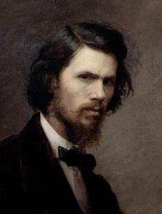 Self Portraits by Famous Artists | Self-portrait - Ivan Kramskoy - WikiPaintings.org