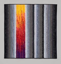 The Quilts of Ann Brauer: Available works. Rainbow in the Mist.