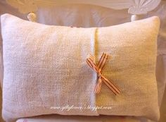 "Love French Linen ~lisa. ""Classic French Linen Cushions"""