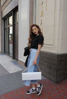 4f1425bd922 korea daily style  stylenanda(MT) 2017 ParkSora Korean Fashion Trends