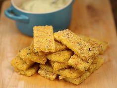 Crochete+de+malai+cu+sos+de+avocado 30 Minute Meals, Onion Rings, Cornbread, Avocado, Cooking Recipes, Yummy Food, Ethnic Recipes, David, Grey Hair