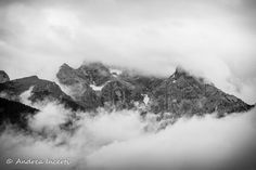 Mountain in the clouds by Andrea Incerti on 500px