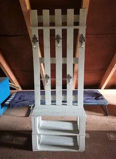 pallet hanger and shoe rack