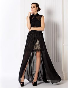 chiffon & lace I Absolutely LOVE this!!!