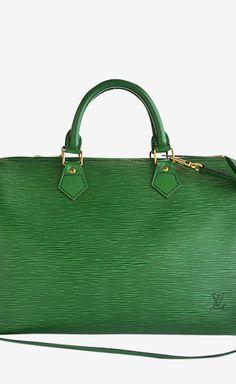 c080da46cfa Louis Vuitton Green Handbag. Vuitton Bag, Louis Vuitton Handbags, Purses  And Handbags,