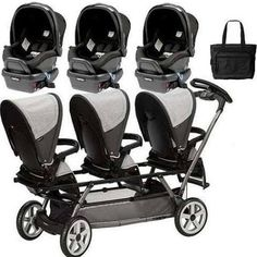 strollers for triplets - Google Search