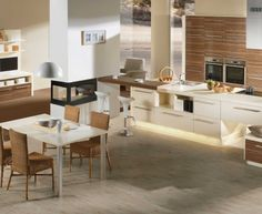Moderní designová kuchyně Alea. Kuchyně a spotřebiče jedné značky - gorenje. #kuchyně #design #interiér #domov #gorenje