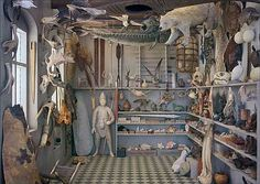 Rosamond Purcell's interpretation of Ole Wurm's Wunderkammern