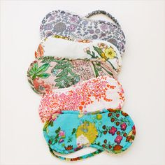 Eye Mask. Various Prints. Cotton Voile. by: Plum Pretty Sugar