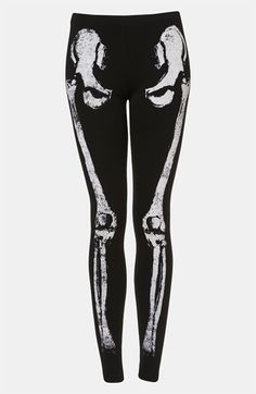 Topshop 'Skeleton' Leggings available at #Nordstrom