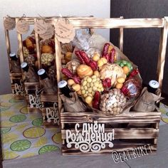 Beer Basket, Happy Magic, Trousseau Packing, Best Business Ideas, Candy Bouquet, Friend Birthday Gifts, Edible Gifts, Party In A Box, Corporate Gifts