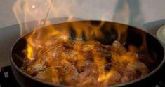 γαρίδες φλαμπέ με ούζο καιφινόκιo (μάραθο) - Pandespani.com Eat Greek, Pork, Beef, Chicken, Kale Stir Fry, Meat, Pork Chops, Steak, Cubs