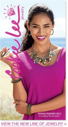 Shop the new Spring Summer Cookie Lee Jewelry at www.cookielee.biz/charlenelee