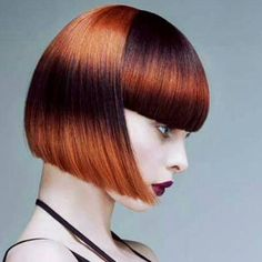 2019 Optimal Power Flow Exotic Hair Color Ideas for Hot and Chic Celebrity Hairstyles – Page 55 – My Beauty Note Creative Hairstyles, Cool Hairstyles, Exotic Hair Color, Short Hair Cuts, Short Hair Styles, Disconnected Haircut, Creative Hair Color, Edgy Hair, Bobs