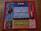 Busy Man Fingers- Fidget Quilt — Tactile Fun and Hand Activities – handarbeit Dog Christmas Stocking, Senior Activities, Spring Activities, Sensory Blanket, Fidget Blankets, Fidget Quilt, Man Quilt, Crafts For Seniors, Small Sewing Projects