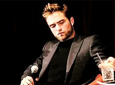 Dior Homme kick-off press conference in L.A. announcing Robert Pattinson as their new face, June 2013.